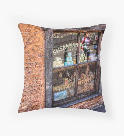 Susannah House Museum Throw Pillow