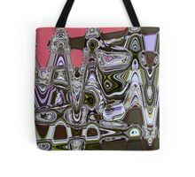 Psychedelic Purple Pop Tote Bag