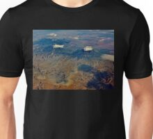 Volcanic Landscape from the Plane Unisex T-Shirt