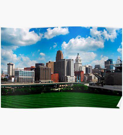 Cincinnati Skyline 7 Poster