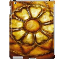 Kathie McCurdy Hammered Metal Flower iPad Case/Skin