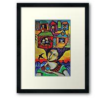 El Carnaval de mi vida Framed Print