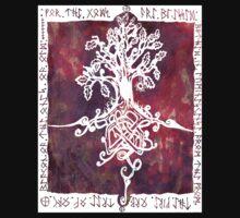 Celtic Tree Of life by Antony Potts