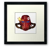 Power Star Armor Framed Print