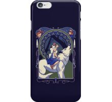 Wolf Princess Nouveau iPhone Case/Skin