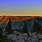 Mountain Sunset by Jason Thomas