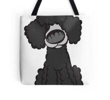 Toy Poodle (Black) Tote Bag