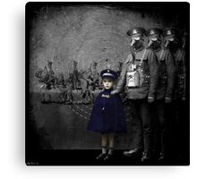 only the children weep Canvas Print