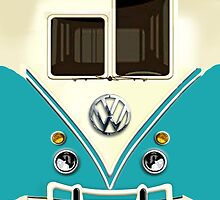 Blue Volkswagen VW with chrome logo iphone 5, iphone 4 4s, iPhone 3Gs, iPod Touch 4g case, Available for T-Shirt man and woman by pointsalestore Corps
