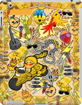 Gold Rush (iPad & iPhone) by CharmerPantsOff
