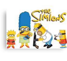 The Simions Canvas Print