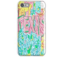 Lilly Pulizter Texas Love iPhone Case/Skin