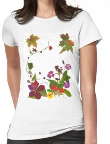 Kathie McCurdy Transition Garden Womens Fitted T-Shirt