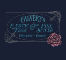 Calvert's Exotic Teas and Fine Spices T-Shirt