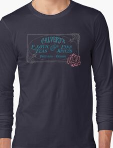 Calvert's Exotic Teas and Fine Spices Long Sleeve T-Shirt