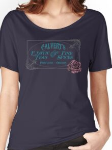 Calvert's Exotic Teas and Fine Spices Women's Relaxed Fit T-Shirt