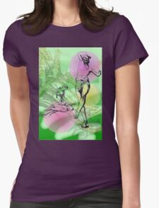 Flute player and dancer. T-Shirt
