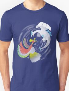 Lugia VS Ho OH T-Shirt