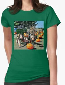 Harvest Horses Womens Fitted T-Shirt