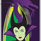 Maleficent Illustration by Topher Adam by TopherAdam