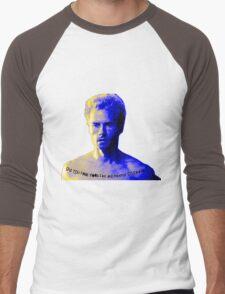 Memento Disease Censored Men's Baseball ¾ T-Shirt