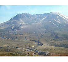 Mount St Helens  Photographic Print