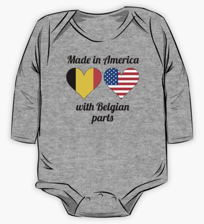 Made In America With Belgian Parts One Piece - Long Sleeve