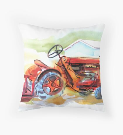 Ready for Work Throw Pillow