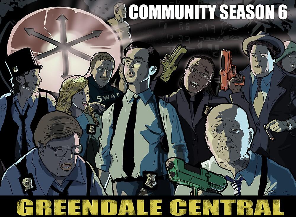 Greendale Central by kinjamin