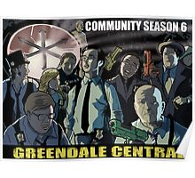 Greendale Central Poster