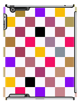 Square Colors iPad Case by Betty Mackey