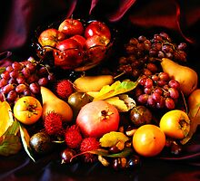 Fruit Bowl. by Bette Devine