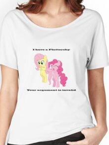 Pinkie has a Fluttershy Women's Relaxed Fit T-Shirt