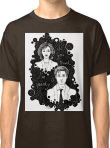 x files: do you think i'm sp00ky Classic T-Shirt