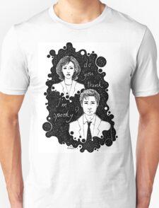 x files: do you think i'm sp00ky Unisex T-Shirt