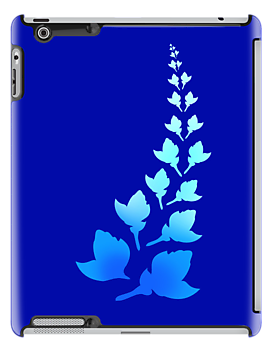 Cerulean [iPad / iPhone / iPod Case] by Damienne Bingham