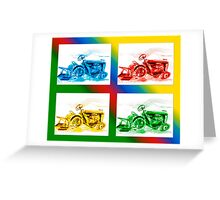 Tractor Mania 2 Greeting Card