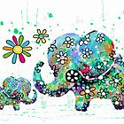 blooming elephants by © Cassidy (Karin) Taylor