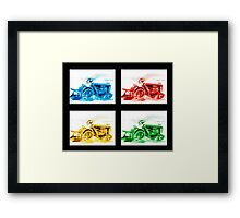 Tractor Mania 4 Framed Print