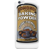 edmonds baking powder iPhone Case/Skin