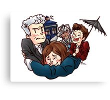 Doctor Who - Dark Water Canvas Print