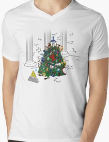 Link's Real Inventory Mens V-Neck T-Shirt