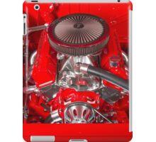 350 Chev V8 iPad Case/Skin
