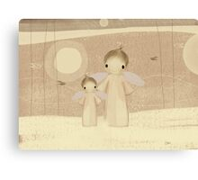 pair of angels Canvas Print