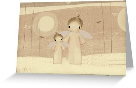 pair of angels by © Karin Taylor