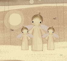 trio of angels by © Karin Taylor