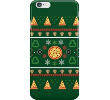 Pizza Party in Festive Green iPhone Case/Skin