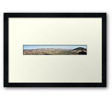 San Luis Obispo Panoramic Framed Print
