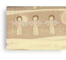 three little angels Canvas Print