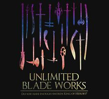 Unlimited Blade Works vs King of Heroes Unisex T-Shirt